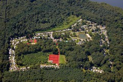 Aerial image of the resort