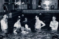 Old picture of swimming